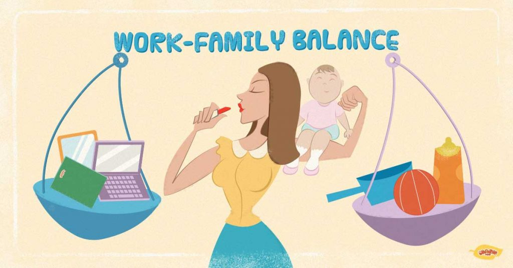 Working moms: tips for a good work-family balance